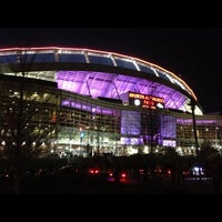 Photo taken at Sports Authority Field at Mile High by Eric M. on 10/29/2012