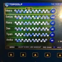 Photo taken at Topgolf by Meera P. on 8/29/2017