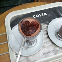 Photo taken at Costa Coffee by Amanda F. on 3/8/2013