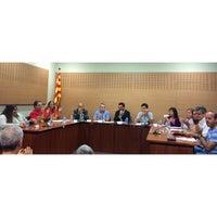 Photo taken at Ajuntament de Gelida by Daniel G. on 9/22/2014