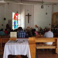 Photo taken at Capilla De Los Sagrados Corazones De Jesús Y María by Mau G. on 5/11/2014