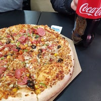 Photo taken at Domino's Pizza by Caner on 2/17/2018