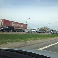 Photo taken at Мост через Оку на трассе М5 by Tatiana on 5/1/2013
