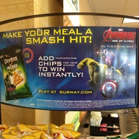 Photo taken at SUBWAY by Marshall P. on 4/26/2015