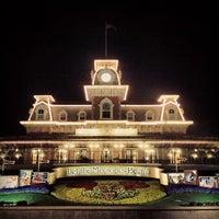 Photo taken at Walt Disney World Railroad - Main Street Station by Adolfo C. on 3/2/2013