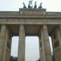 Photo taken at Pariser Platz by Tomer I. on 11/21/2012