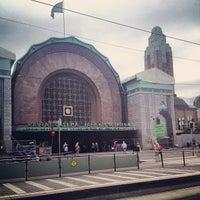 Photo taken at VR Helsinki Central Railway Station by Ilkka S. on 7/30/2013