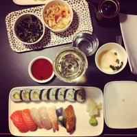 Photo taken at Sushibar + Wine by Ilkka S. on 1/15/2013