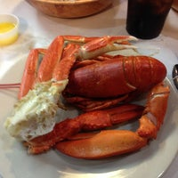 Photo taken at Lighthouse Lobster Feast by Teresa Chiti on 3/9/2013