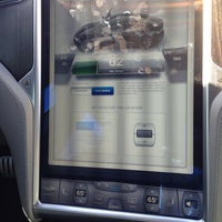 Photo taken at Tesla Supercharger Station by Justin M. on 4/20/2013
