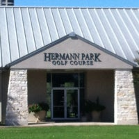 Photo taken at Hermann Park Golf Course by Jayme on 9/19/2012