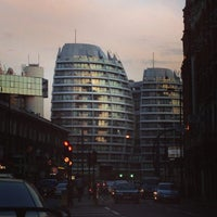 Photo taken at Old Street Roundabout by Su B. on 7/26/2013