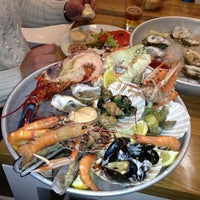 Photo taken at The Seafood Bar by Eduard on 2/2/2013