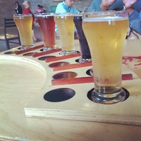 Photo taken at Right Brain Brewery by Daryn H. on 7/27/2013