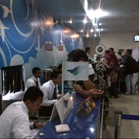 Photo taken at Sultan Thaha Syaifuddin Airport (DJB) by Noly H. on 1/6/2013