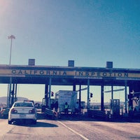 Photo taken at California Department of Food and Agriculture, Yermo Inspection Station by Rob P. on 1/31/2013