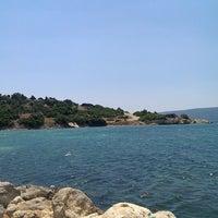 Photo taken at Akarca Sahili by Mehmet Ali on 7/21/2013
