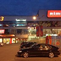 Photo taken at Rimi Hypermarket by Rimas B. on 7/21/2013