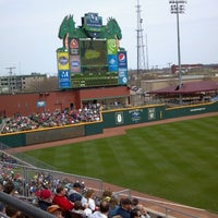 Photo taken at Fifth Third Field by Sarah on 4/14/2013