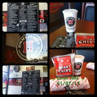 Photo taken at Jimmy John's by 🌼Veronica🌼 on 1/7/2013