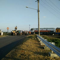 Photo taken at Stasiun Cangkring by Oi R. on 7/16/2015