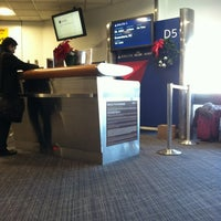 Photo taken at Gate D5 by Ramona W. on 11/26/2012