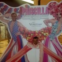 Photo prise au Sands Theatre at the Venetian Las Vegas par Joseph F. le7/12/2013
