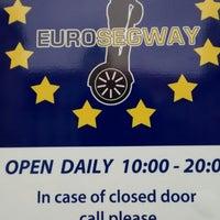 Photo taken at Euro Segway Prague by Vladimir on 11/24/2013