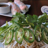 Photo taken at Mekong Delta Cafe by The Baltimore Sun on 12/5/2012