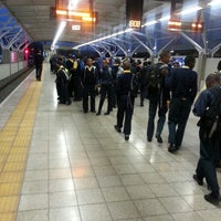 Photo taken at Gautrain Pretoria Station by Thabo M. on 4/12/2013
