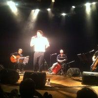 Photo taken at Teatro da Caixa by Daniella P. on 3/12/2013