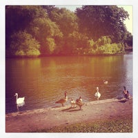 Photo taken at Alvaston Park by Martin B. on 7/6/2013
