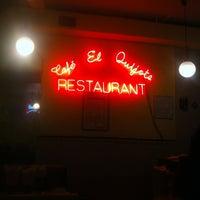Photo taken at El Quijote by Jose H. on 7/4/2013