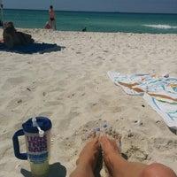 Photo taken at Schooners Beach by Randa on 4/5/2015