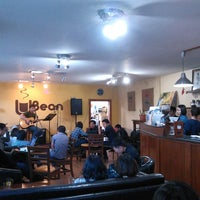 Photo taken at Ubean coffee house and roasterie by Yan G. on 3/16/2013
