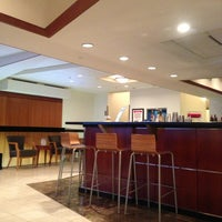 Photo taken at Delta Sky Club by Robin on 7/14/2013