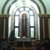 Photo taken at Gennesaret Church by Ada J. on 12/12/2012