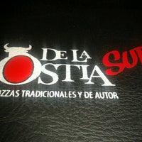 Photo taken at De La ostia by Melu on 11/25/2012