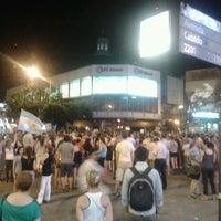 Photo taken at Av. Cabildo y Juramento by Melu on 11/9/2012