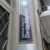 Photo taken at Asociación Dante Alighieri de Buenos Aires by Melu on 2/13/2013