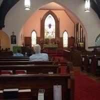 Photo taken at St. John's Episcopal Church by Kandi P. on 7/13/2014