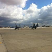 Photo taken at MCAS Miramar Hangar 6 by Ryan L. on 10/12/2012