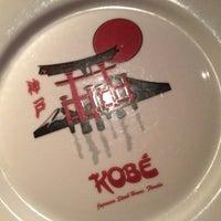 Photo taken at Kobe Japanese Steakhouse & Sushi Bar by Kevin K. on 10/16/2012