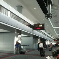 Photo taken at Gate B58 by Bill on 10/10/2012