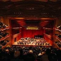 Photo taken at David Geffen Hall by Luis S. on 4/13/2013