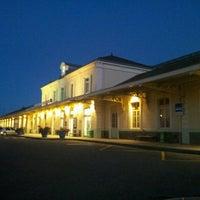 Photo taken at Gare SNCF d'Évian-les-Bains by Fabien G. on 9/9/2013