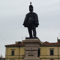 Photo taken at Piazza Vittorio Emanuele II by Shallymal on 3/20/2013