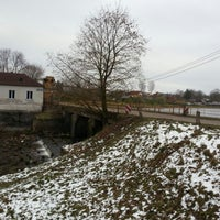 Photo taken at Вилянская ГЭС by Sandra K. on 11/1/2012