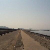Photo taken at 西ノ浜海岸 by Yasuhiro on 3/9/2013