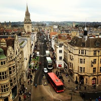 Photo taken at Carfax Tower by Vladimir on 1/4/2013